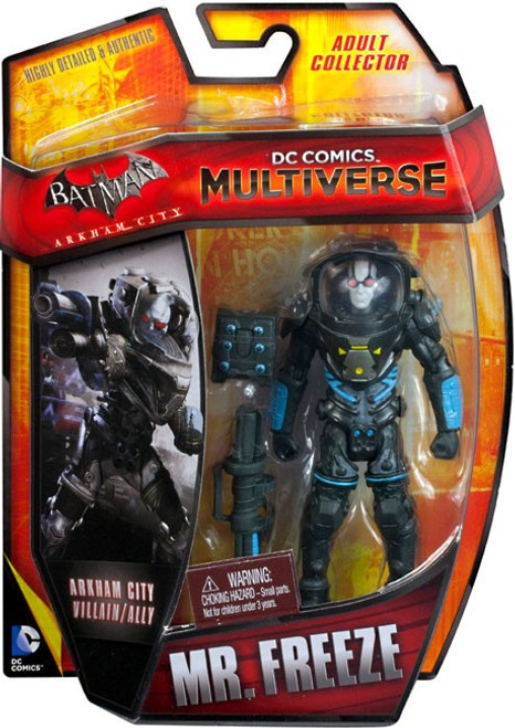 Batman Arkham City DC Comics Multiverse Mr. Freeze Action Figure