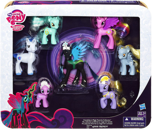 My Little Pony Friendship is Magic Collector Series Favorites Collection Exclusive Figure 7-Pack [Featuring Queen Chrysalis]