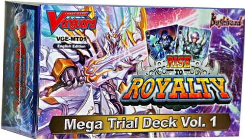 Cardfight Vanguard Trading Card Game Rise to Royalty Mega Trial Deck