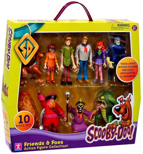 Scooby Doo Friends & Foes Exclusive Action Figure 10-Pack Collection