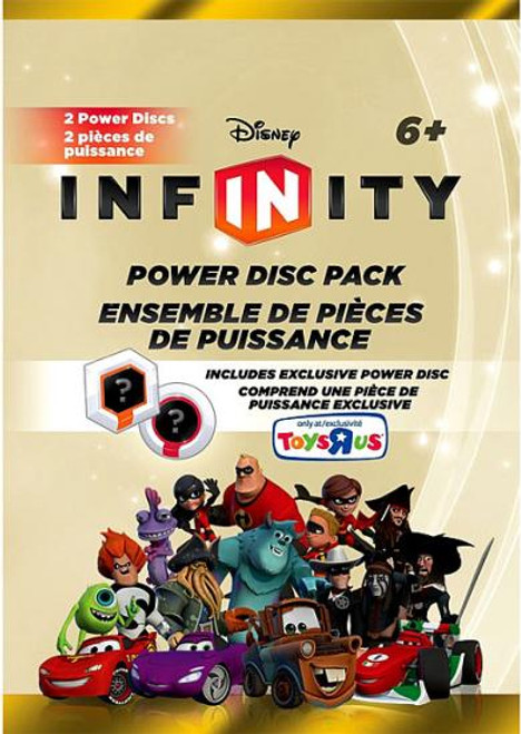 Disney Infinity Series 2 Exclusive Power Disc Pack [Gold]