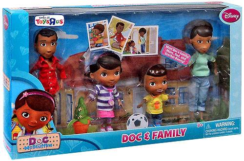Disney Doc McStuffins & Family Exclusive Action Figure 2-Pack