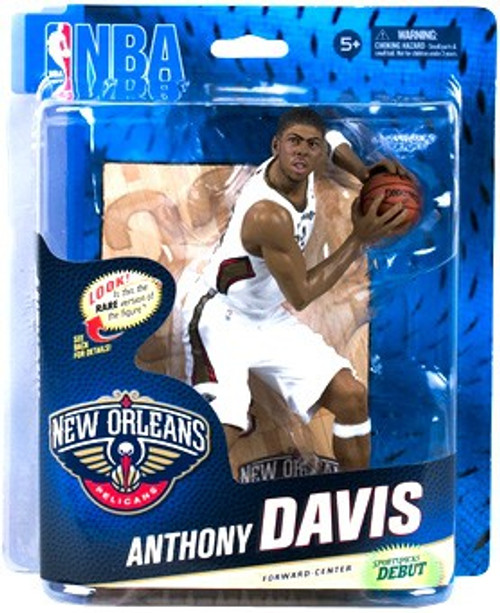 McFarlane Toys NBA New Orleans Pelicans Sports Picks Series 24 Anthony Davis Action Figure [White Jersey]