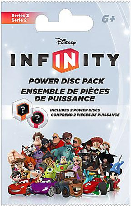 Disney Infinity Series 2 Power Disc Pack [Silver]