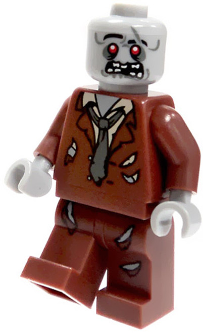LEGO Zombie Minifigure [Brown Tattered Suit Loose]