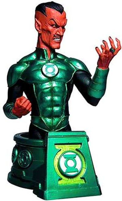 DC Blackest Night Green Lantern Sinestro 6-Inch Bust