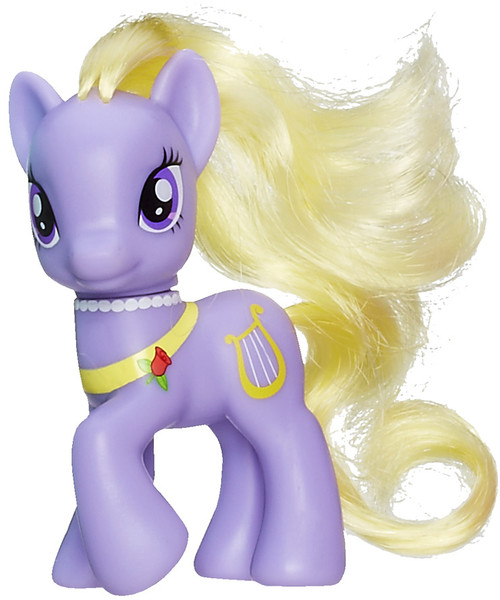 My Little Pony Lyrica Lilac 3.5-Inch Collectible Figure [Loose]
