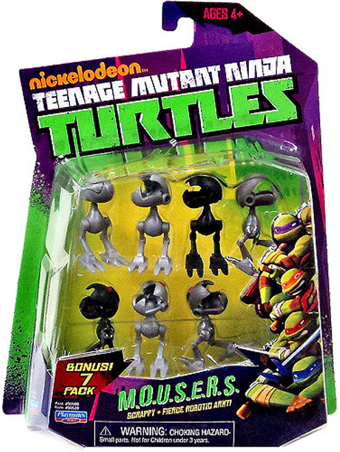 Teenage Mutant Ninja Turtles Nickelodeon MOUSERS Action Figure Set