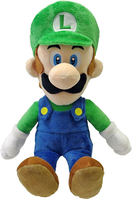 Super Mario Bros Luigi 16-Inch Plush