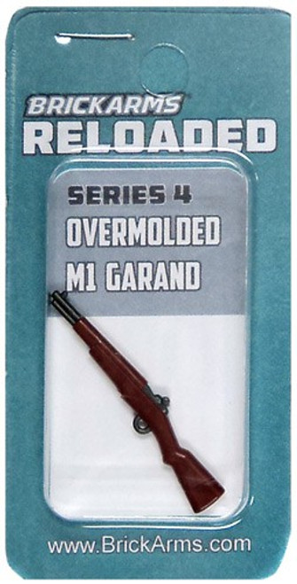 BrickArms Reloaded Series 4 Weapons M1 Garand 2.5-Inch [Overmolded] [New Sealed]