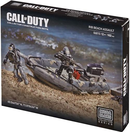 Mega Bloks Call of Duty Rib Beach Assault Set #06815