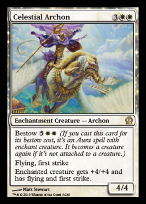 MtG Theros Rare Celestial Archon #3