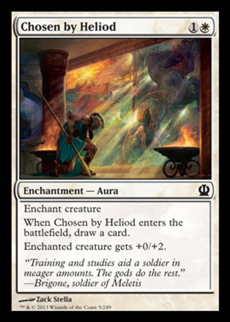 MtG Theros Common Chosen by Heliod #5