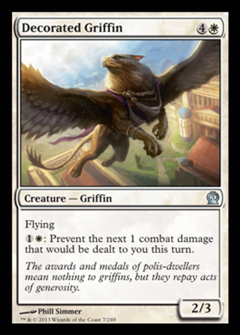 MtG Theros Uncommon Decorated Griffin #7