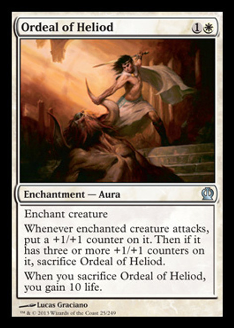 MtG Theros Uncommon Ordeal of Heliod #25