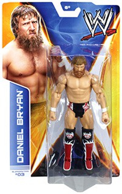 WWE Wrestling Series 35 Daniel Bryan Action Figure #3