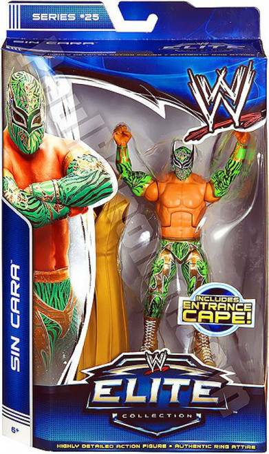 WWE Wrestling Elite Collection Series 25 Sin Cara Action Figure [Entrance Cape]