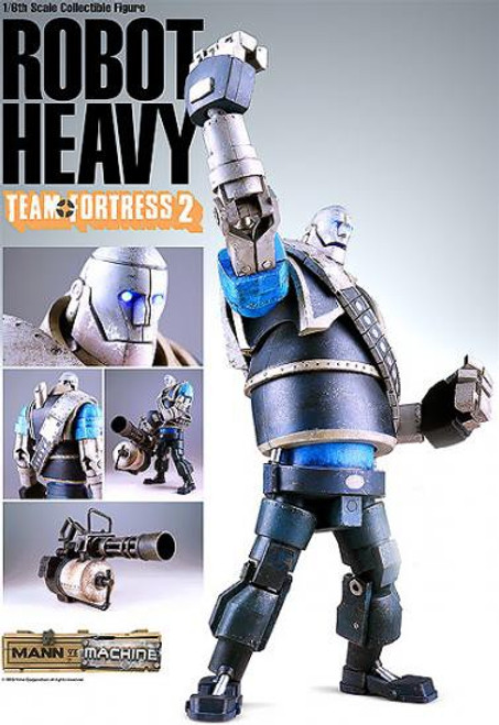 Team Fortress 2 Mann vs. Machine Blu Heavy Collectible Figure