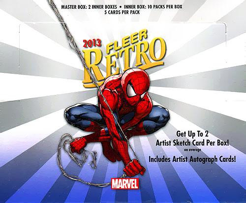 Marvel 2013 Fleer Retro Trading Card Box