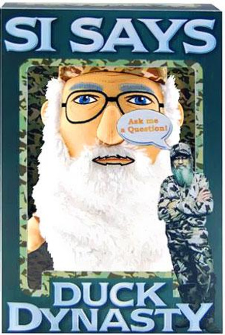 Duck Dynasty Si Says Plush