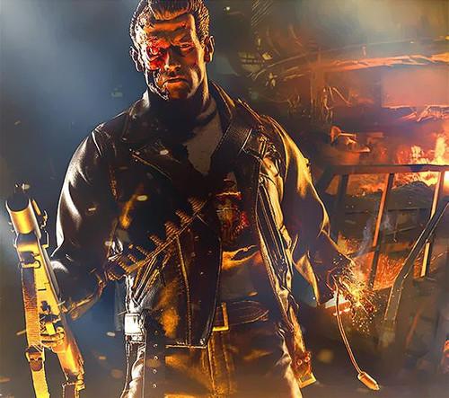 Terminator 2 Judgment Day Battle Damaged T-800 Terminator Polystone Statue
