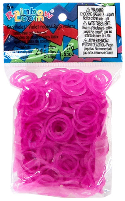 Rainbow Loom Jelly Rose Rubber Bands Refill Pack RL8 [600 Count]