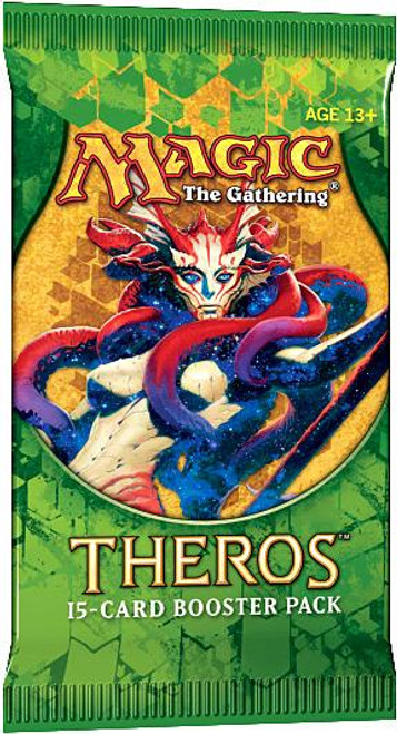 MtG Trading Card Game Theros Booster Pack [15 Cards]