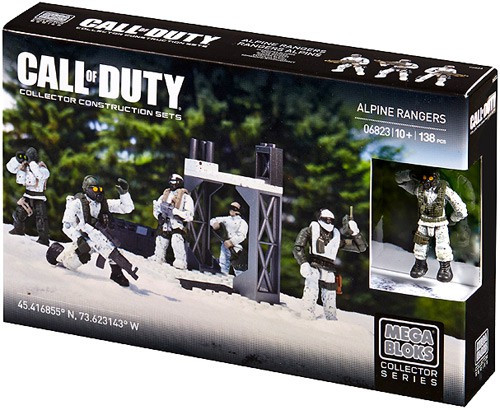 Mega Bloks Call of Duty Alpine Rangers Set #06823