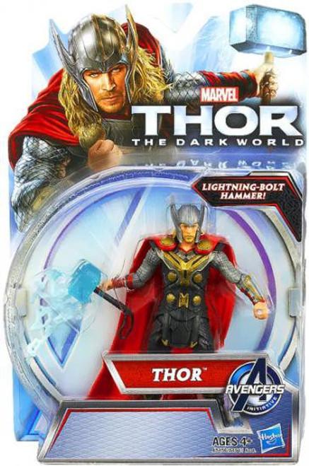 The Dark World Thor Action Figure [Lightning Bolt Hammer]