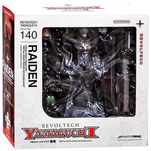 Metal Gear Solid Metal Gear Rising Revengeance Revoltech Raiden Action Figure #140