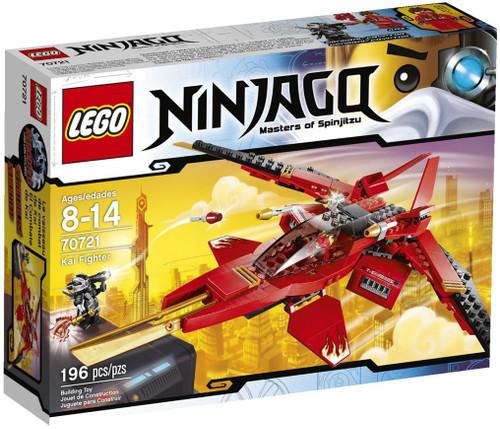 LEGO Ninjago Rebooted Kai Fighter Set #70721
