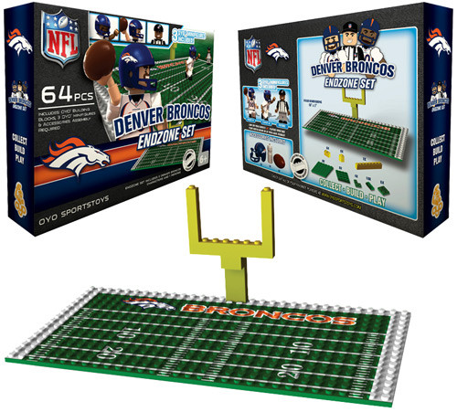 NFL Generation 1 Denver Broncos Endzone Set