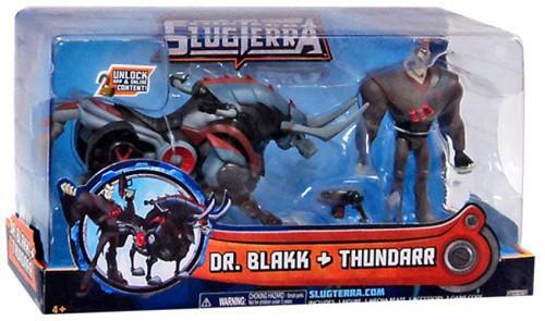 Slugterra Dr. Blakk & Thundarr Action Figure 2-Pack