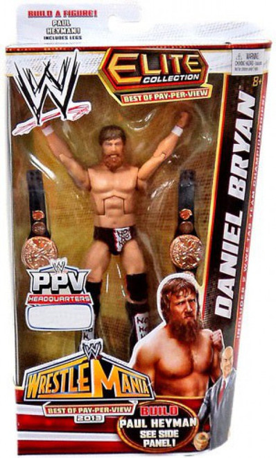 WWE Wrestling Elite Collection Best of Pay Per View Daniel Bryan Exclusive Action Figure [Build Paul Heyman]
