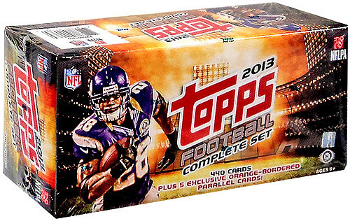 NFL Topps 2013 Football Trading Card Factory HOBBY Set