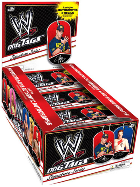 WWE Wrestling Topps 2013 Signature Series Dog Tags Mystery Box [24 Packs]