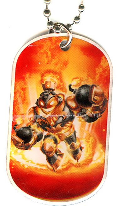 Skylanders Swap Force Blast Zone Dog Tag #8 [Loose]
