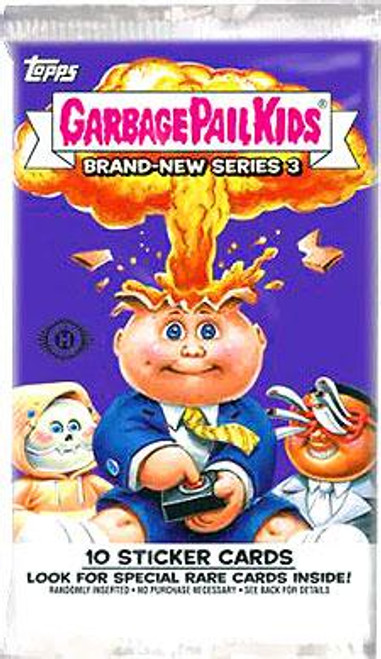 Garbage Pail Kids Topps 2013 Brand New Series 3 Trading Card Sticker Pack [10 Sticker Cards]