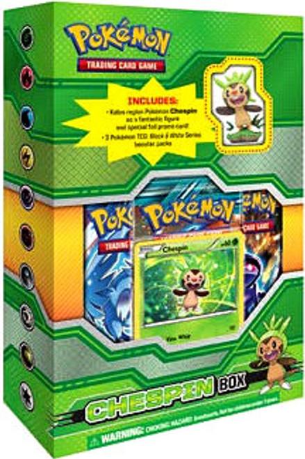 Pokemon Trading Card Game Chespin Box