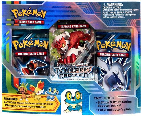 Pokemon Trading Card Game Black & White Froakie Pin Pack [3 Booster Packs & Pin!]