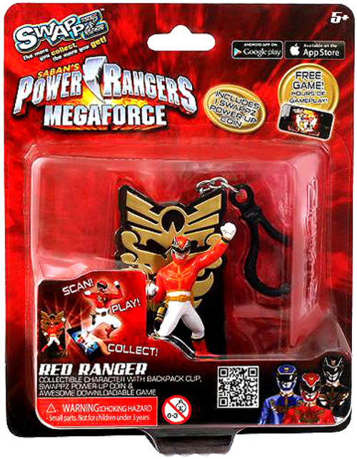 Power Rangers Megaforce Swappz Red Ranger Minifigure