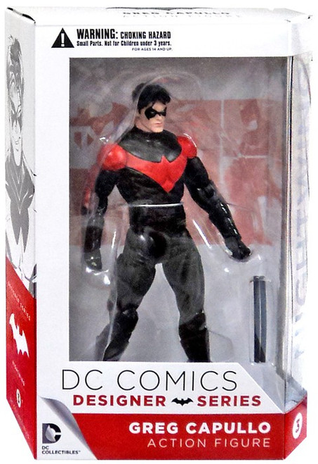 DC Batman Designer Greg Capullo Series 1 Nightwing Action Figure #3