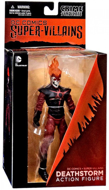 DC Super Villains Crime Syndicate Deathstorm Action Figure
