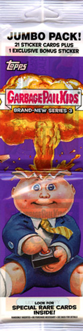 Garbage Pail Kids Topps 2013 Brand New Series 3 Trading Card Sticker JUMBO Pack [21 Cards + 1 Exclusive Bonus Sticker!]