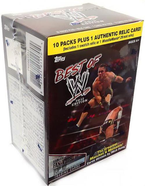 WWE Wrestling Topps 2013 Best of WWE Trading Card BLASTER Box [10 Packs]