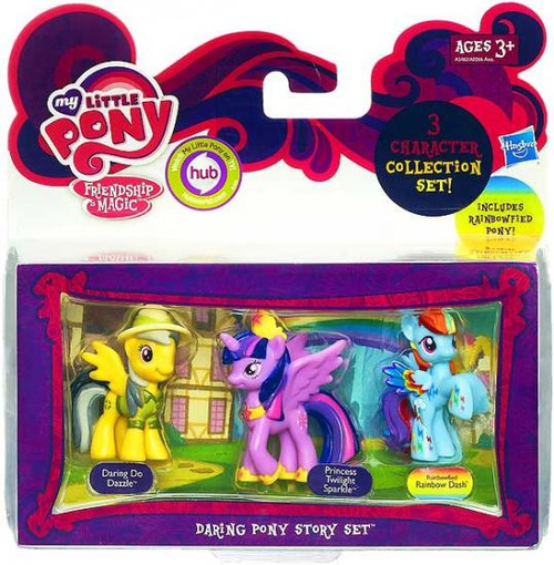 My Little Pony Friendship is Magic Character Collection Sets Daring Pony Story Figure Set
