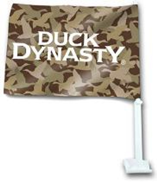 Duck Dynasty Camouflage Car Flag