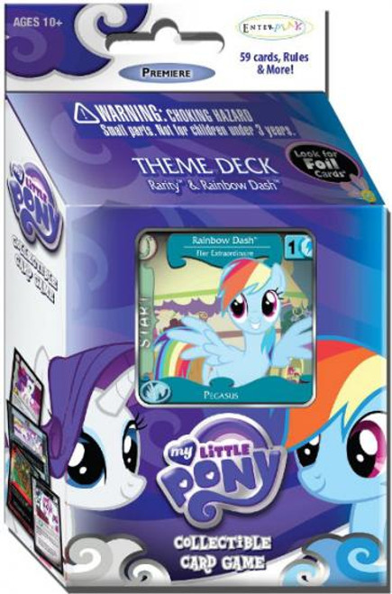 My Little Pony Collectible Card Game Premiere Rainbow Dash Theme Deck