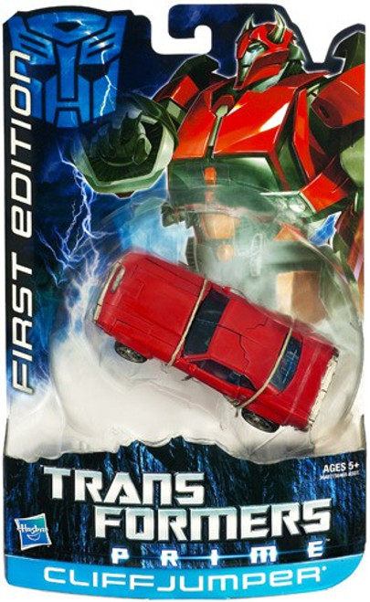 Transformers Prime First Edition Deluxe Cliffjumper Deluxe Action Figure
