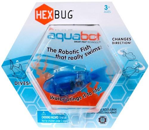 Hexbug Aquabot Blue Fish 3-Inch Electronic Pet